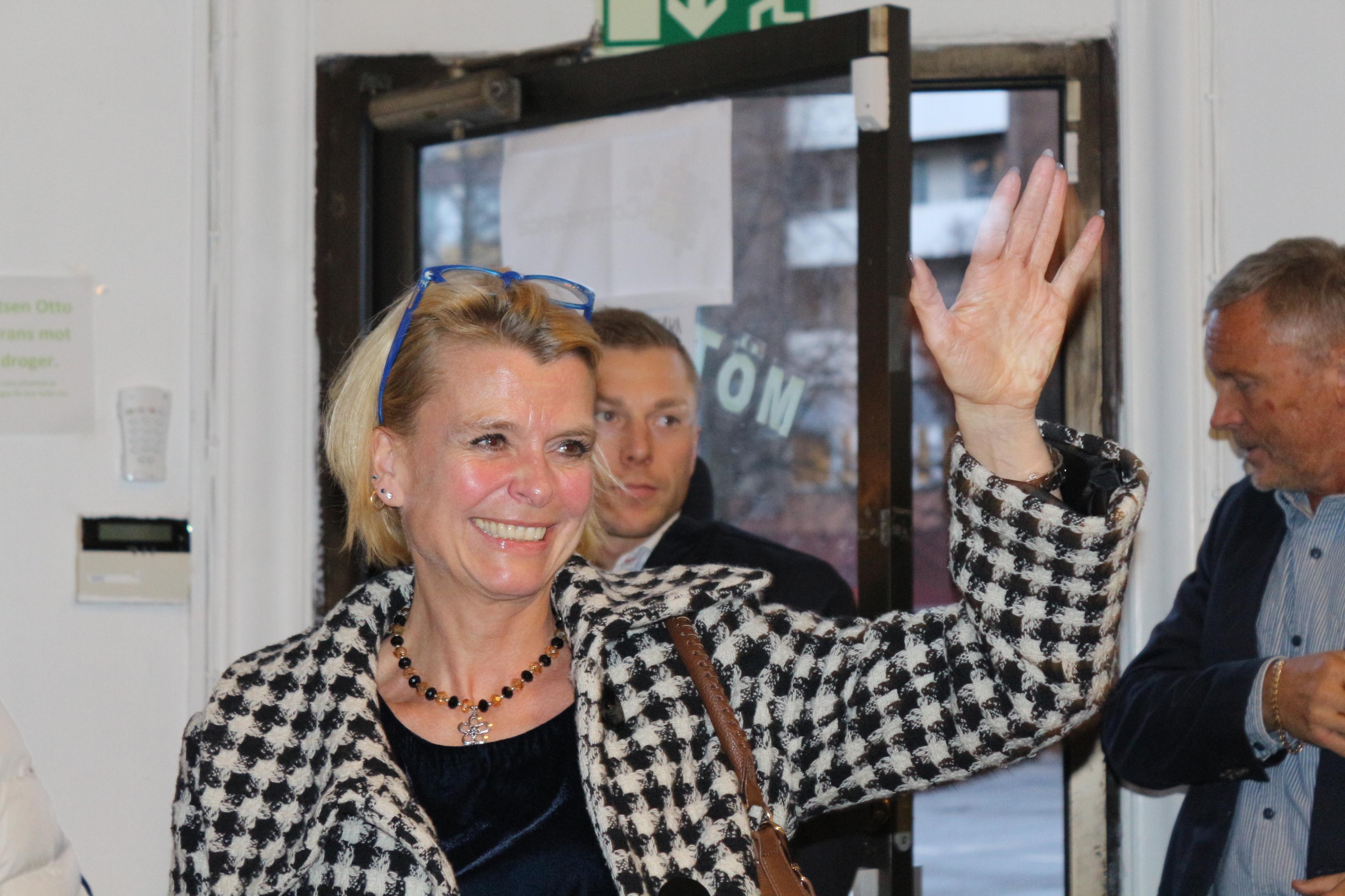 Minister besökte Mötesplats Otto