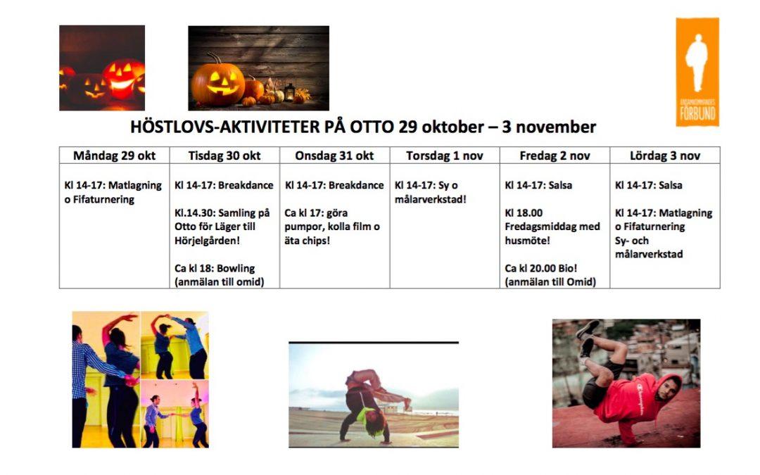 Höstlov på Mötesplats Otto